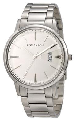 Romanson Romanson TM 4201 MW(WH) наручные часы romanson tm0337mj wh