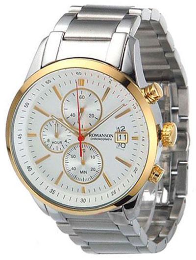 Romanson Romanson TM 8237H MC(WH) наручные часы romanson tm0337mj wh
