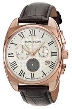 Romanson Romanson TL 1262H MR(WH) наручные часы romanson tm0337mj wh