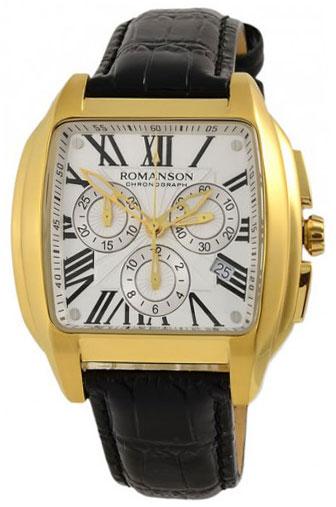 Romanson Romanson TL 1273H MG(WH) наручные часы romanson tm0337mj wh