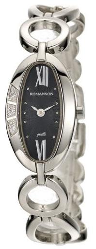 Romanson Romanson RM 0349Q LW(BK) наручные часы romanson tl2617mw bk bk