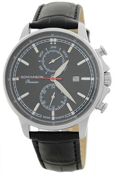 Romanson Romanson PB 3251F MW(BK)BK наручные часы romanson tl2617mw bk bk
