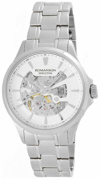 Romanson Romanson TM 4222R MW(WH) наручные часы romanson tm0337mj wh
