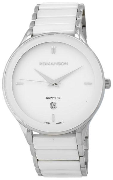 Romanson Romanson TM 4236M MW(WH) наручные часы romanson tm0337mj wh