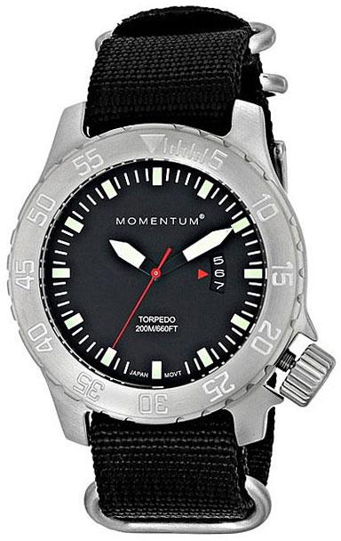Мужские часы Momentum 1M-SP00BS0 Мужские часы Casio AQ-S800W-1B