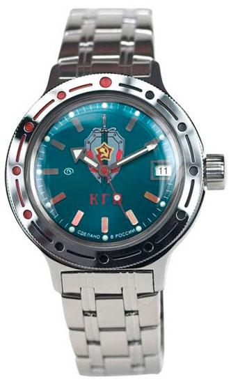 Восток Мужские водонепроницаемые наручные часы Амфибия Восток 2416/110/420945