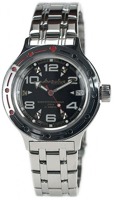 Восток Мужские водонепроницаемые наручные часы Амфибия Восток 2416/110/420335