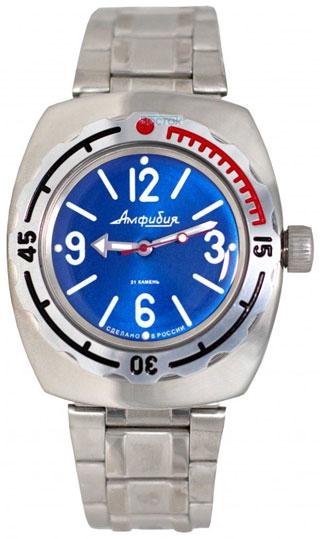 Восток Мужские водонепроницаемые наручные часы Амфибия Восток 2415/310/090914