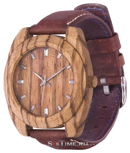 AA Wooden Watches Мужские российские деревянные наручные часы AA Wooden Watches S3 Zebrano
