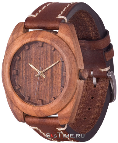 AA Wooden Watches AA Wooden Watches S4 Brown