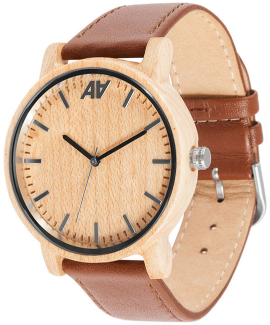 AA Wooden Watches AA Wooden Watches V1 Maple ns10 tv00b v1 ns10 tv00 v1