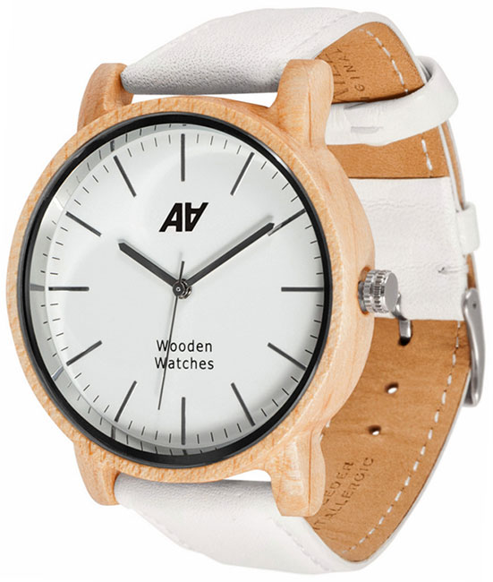 AA Wooden Watches AA Wooden Watches V1 MapleWh ns10 tv00b v1 ns10 tv00 v1