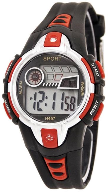 Тик-Так Н457 WR50 черно-красные