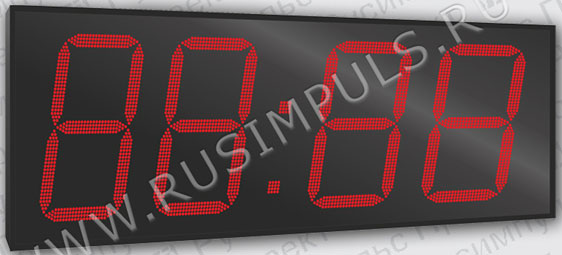 Имп Уличные электронные часы-термометр Имп 4100-T (ER2)