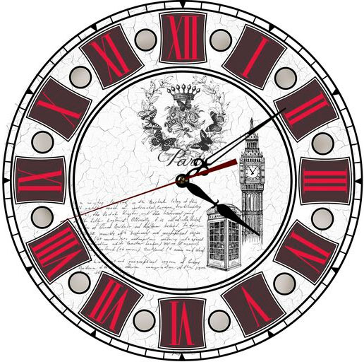 Подробнее о Akita Akita C46 часы настенные 46 х 46 см