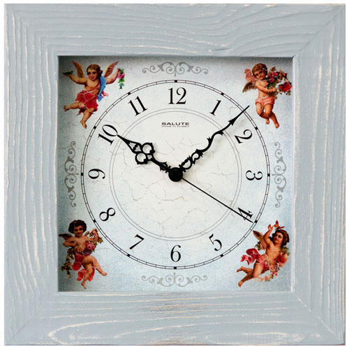 Салют Салют ДС-4АС4-114 настенные часы салют пе б2 204 смайлик
