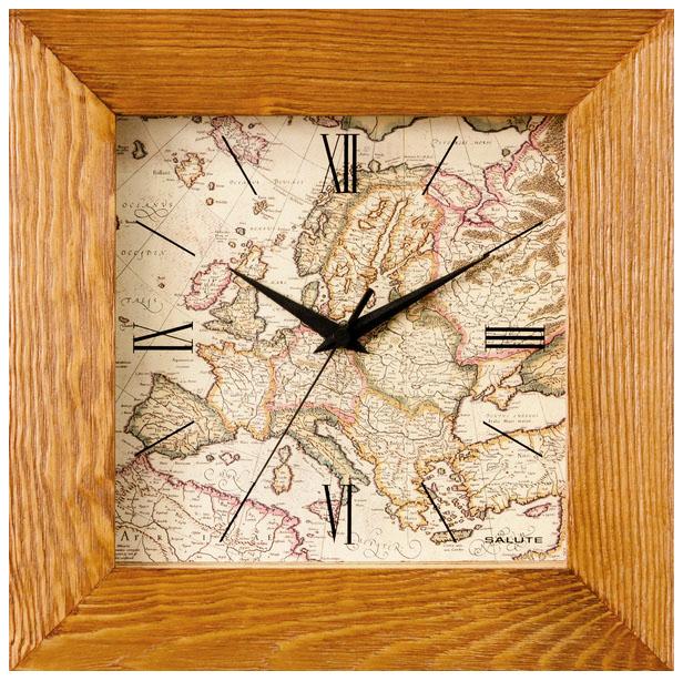 Салют Салют ДСТ-4АС27-463 настенные часы салют пе б2 204 смайлик