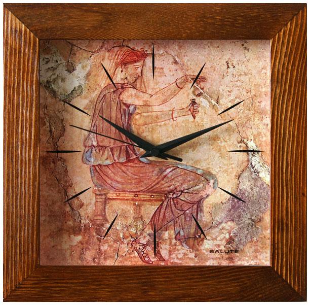 Салют Салют ДСТ-2АС28-602 настенные часы салют пе б2 204 смайлик