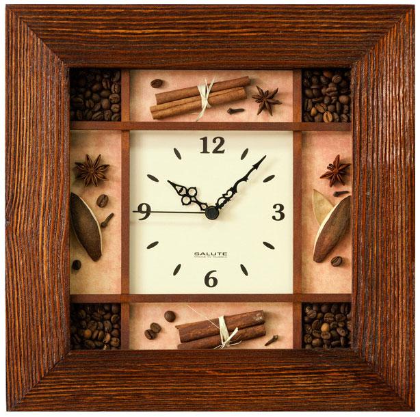 Салют Салют ДСЗ-4АС28-465 настенные часы салют пе б2 204 смайлик