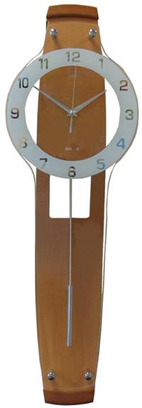 Adler Настенные интерьерные часы с маятником Adler 20169 орех