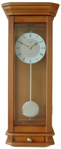 Adler Настенные интерьерные часы с маятником Adler 20205 черешня