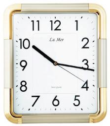 La Mer La Mer GD192001 настенные часы w era 13235