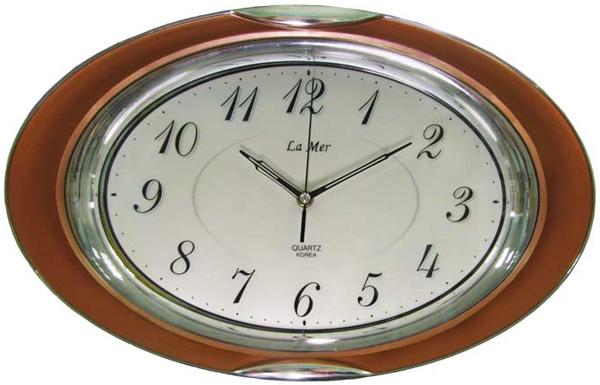 La Mer Настенные интерьерные часы La Mer GD228006