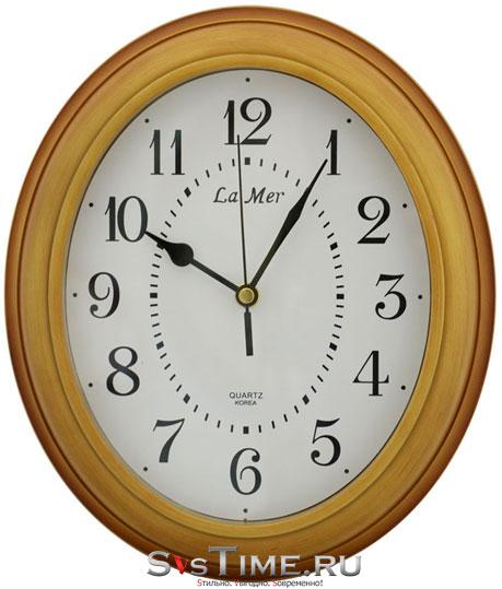 La Mer Настенные интерьерные часы La Mer GD200 OAK