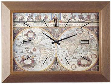 Lowell Настенные интерьерные часы Lowell 04607N