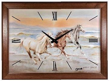 Lowell Настенные интерьерные часы Lowell 11707