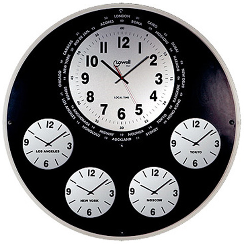 Lowell Настенные интерьерные часы Lowell 05621