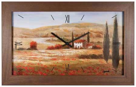 Lowell Настенные интерьерные часы Lowell 11044