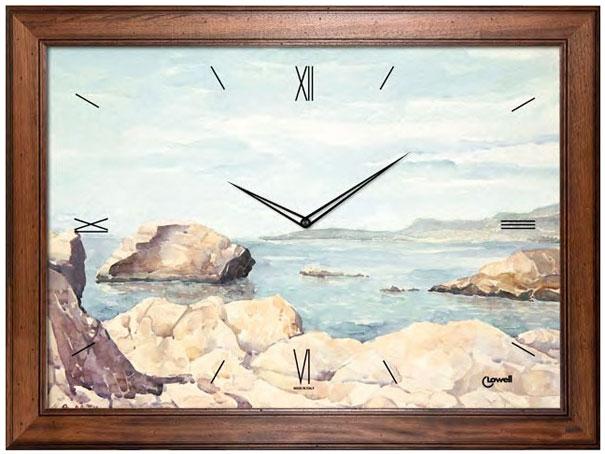 Lowell Настенные интерьерные часы Lowell 12103