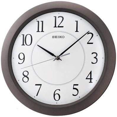 Seiko Пластиковые настенные интерьерные часы Seiko QXA352N