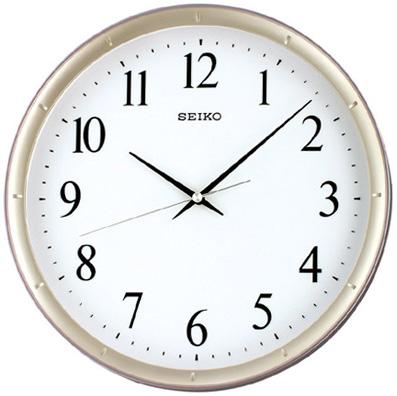Seiko Пластиковые настенные интерьерные часы Seiko QXA378Z