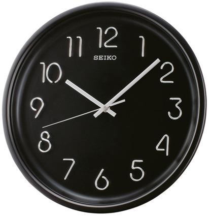 Seiko Пластиковые настенные интерьерные часы Seiko QXA447K