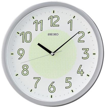 Seiko Пластиковые настенные интерьерные часы Seiko QXA473S