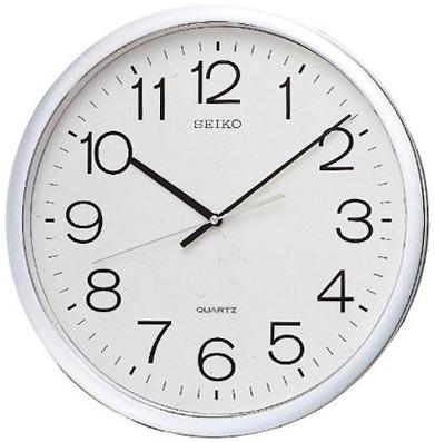 Seiko Пластиковые настенные интерьерные часы Seiko QXA041S
