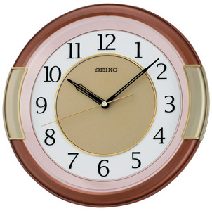 Seiko Пластиковые настенные интерьерные часы Seiko QXA272B