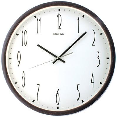 Seiko Деревянные настенные интерьерные часы Seiko QXA386B