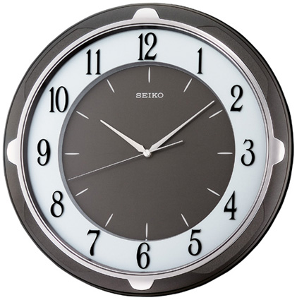 Seiko Пластиковые настенные интерьерные часы Seiko QXA418N