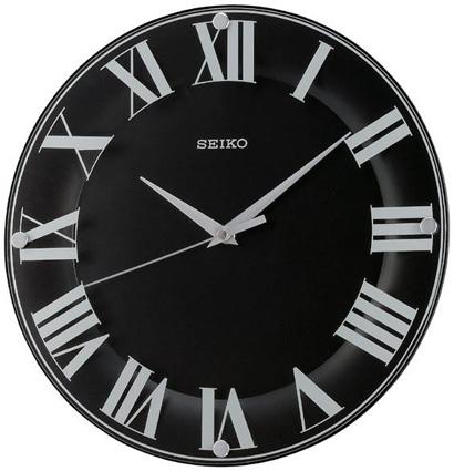 Seiko Пластиковые настенные интерьерные часы Seiko QXA445T