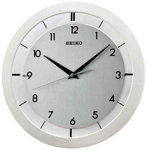 Seiko Пластиковые настенные интерьерные часы Seiko QXA520W