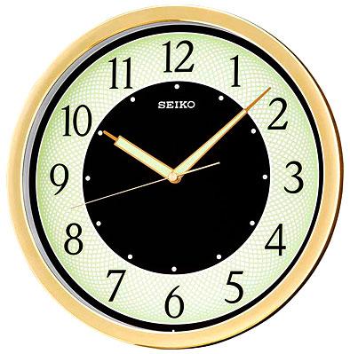 Seiko Пластиковые настенные интерьерные часы Seiko QXA472G