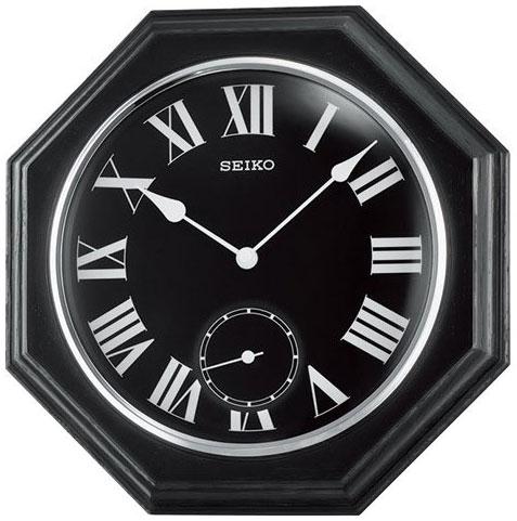 Seiko Деревянные настенные интерьерные часы Seiko QXA567K