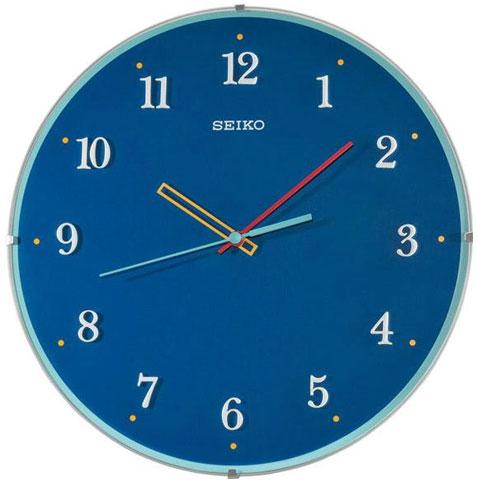 Seiko Пластиковые настенные интерьерные часы Seiko QXA568L