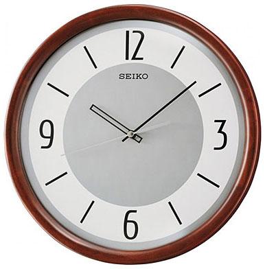 Seiko Деревянные настенные интерьерные часы Seiko QXA569B