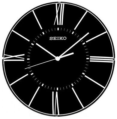 Seiko Пластиковые настенные интерьерные часы Seiko QXA570J
