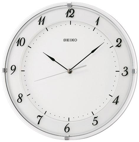 Seiko Пластиковые настенные интерьерные часы Seiko QXA572W