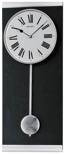 Seiko Деревянные настенные интерьерные часы с маятником Seiko QXC227S